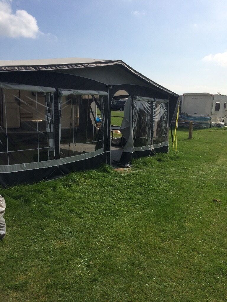 Dorema Royal 350 Delux Full Caravan All Season Awning Size 16 1025 1050