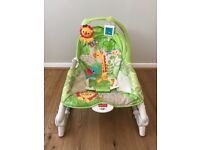 Fisher-Price Newborn to Todler Rainforest Rocker & Chair