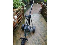 Powercaddy freeway electric trolley with battery and charger