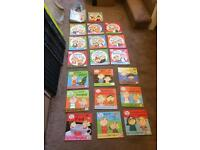 Charlie and Lola books 19 plus bag as new