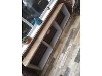 Rustic Bench seat/storage