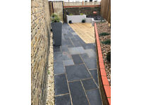 Grey Limestone Paving For Sale