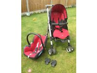 maxi-cosi pushchair and car seat