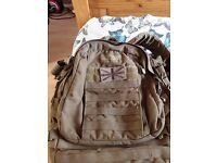 Military camelbak rucksack, walking fishing