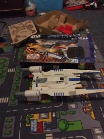 Star Wars rouge one nerf was brought at Xmas and not played with £35 cost £60 in vgc