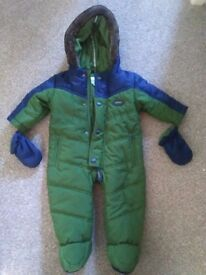 Ted Baker Snow Suit for boy 0-3 Months