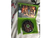 Lord of the rings the third age (cracked case)