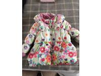 Girls next 12-18 month cozy jacket