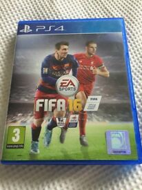 Fifa 16 PS4 game.