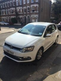 VW Polo 2015, Amazing Condition, White, 5 Door, 1.2L, Petrol, Full Service History, One Owner,