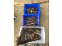 Bulk clear out of hand tool woodwork and metal