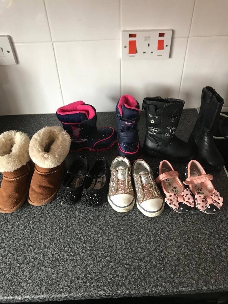 Toddlers size 5 shoes