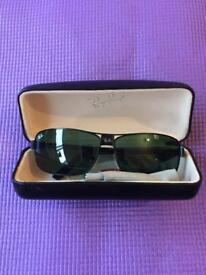 RayBan Sunglasses RB3402 Gunmetal Green