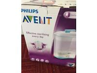 Avent 2 in 1 baby bottle steriliser