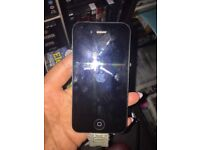 Iphone 4 working order , brand New , brilliant condition ,