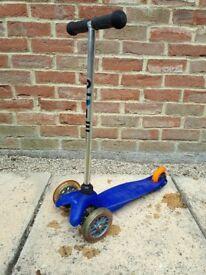 Blue Micro Mini Scooter
