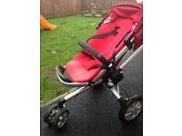 Quinny buzz buggy and carry cot