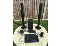 LG HDMI DVD receiver and LG speaker system
