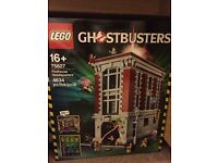 Lego Ghostbusters firehouse headquarters brand new sealed