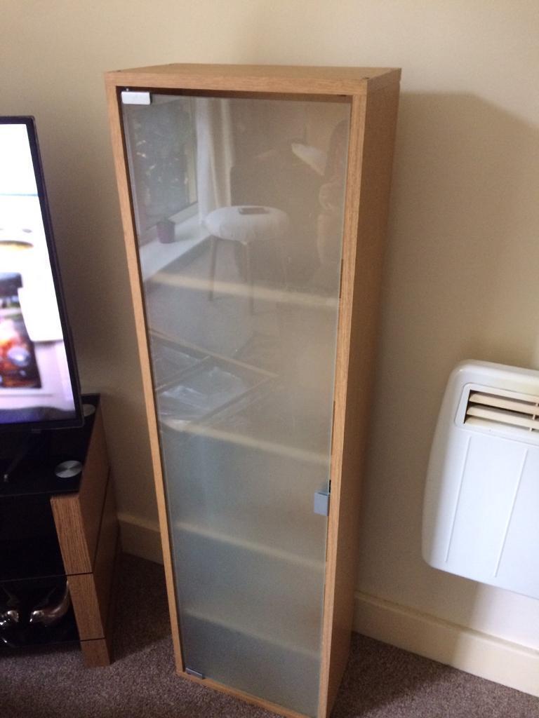 DVD holderin Southampton, HampshireGumtree - DVD holder with glass door. height 118cm width 33cm depth 18.5cm. £15