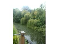 1 bedroom furnished apartment, canal view, quiet location, suitable for professionals