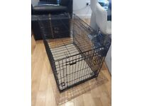 Dog crate for sale (dog not included!)