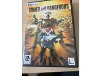 Armed And Dangerous PC CD ROM Complete Original Game & Manual