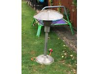 Table top patio gas heater