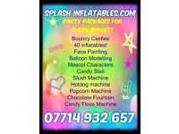 Deals on Face painting, Mascot Hire, Balloon Modelling, Paw Patrol, bouncy castles, troll painter
