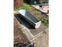 Edwardian tin bath