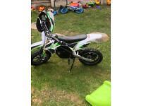Battery ride on motor bike