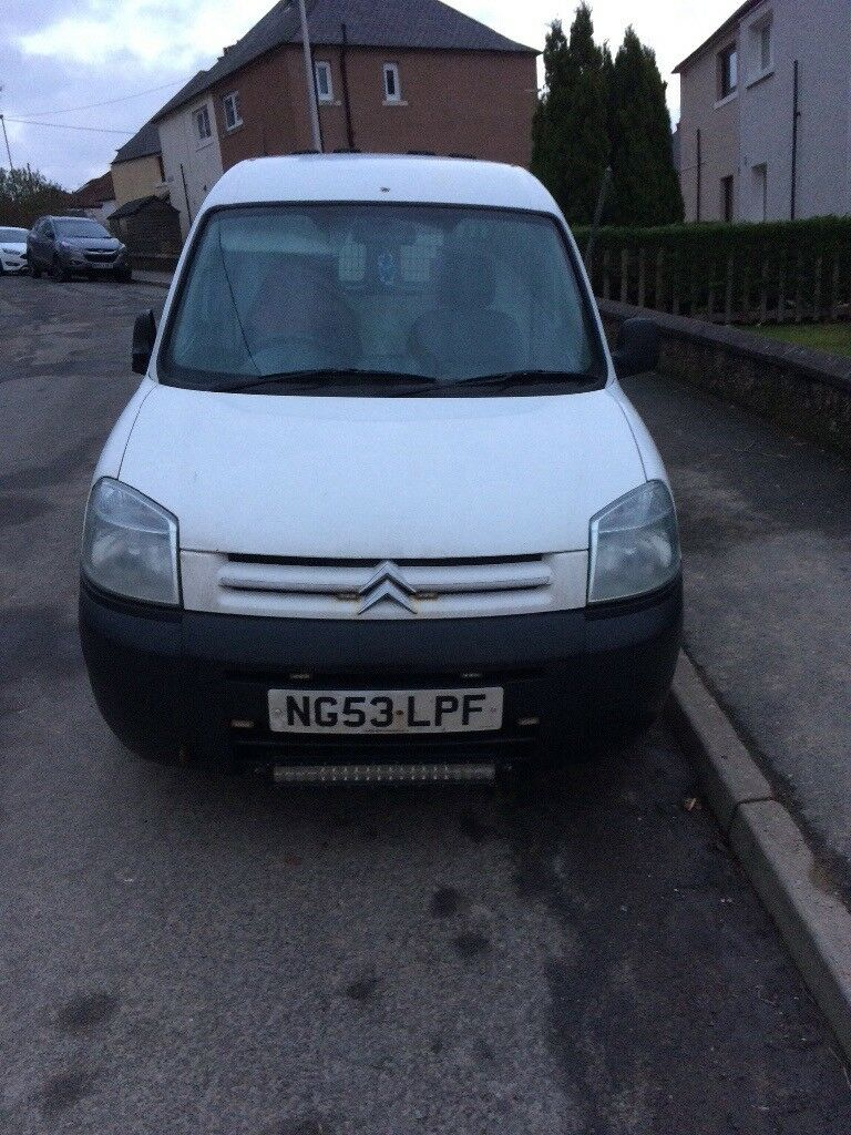Citroen berlingo stopped running today no time to fix!