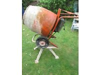 Belle Minimix 150 electric cement mixer with Stand 240Volt