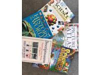 Educational books x5