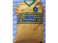 Signed Celtic top
