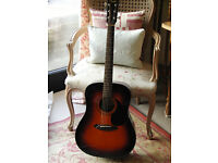 Fender CD-60SB accoustic guitar