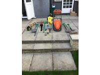 Lawn mover, hedge trimmer, strimmer etc etc