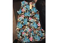 Ladies Summer dress size 14 new with tags