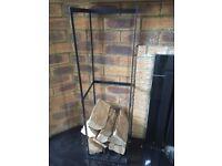 Metal Log holders (two)