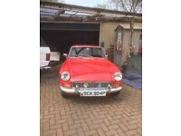 MGB GT 1976 RED BEAUTIFUL EXAMPLE