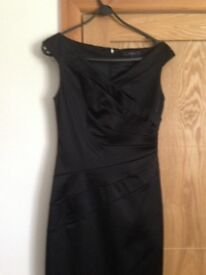 BLACK COAST DRESS SILK SIZE 10