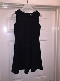 Black Skater Style Party Dress - Age 12