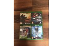 (Xbox One)Titanfall, The Crew, FIFA 16 and Star Wars Battlefront