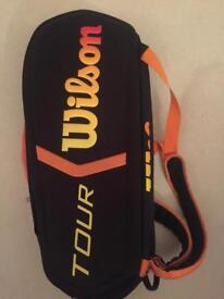 Wilson Tennis Racket Bag. £89 New from Tennisnuts