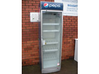 Pepsi branded single door drinks fridge