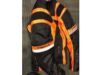 Held Motorcycle Jacket Black / Orange KTM 1290 990 690 Superduke Repsol