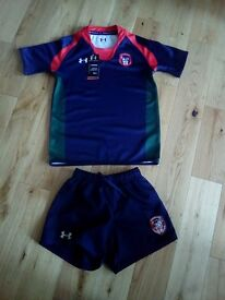 New with tags Coleraine grammar school uniform rugby kit