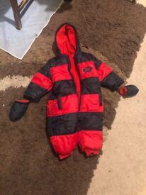 12-18 months Snowsuit