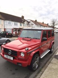 Mercedes 280GE UK G Wagon 1982 Red Automatic G wagen