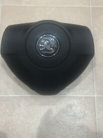 Vauxhall Astra H Leather Steering Wheel And Airbag